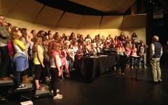 Choir gears up for first concert