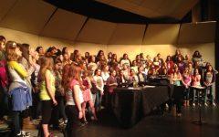 Howell Choir's put on annual fall Concert