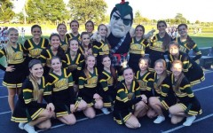 Howell varsity Pompom prepares for upcoming competition