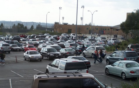 Parking lots at HHS worry student drivers