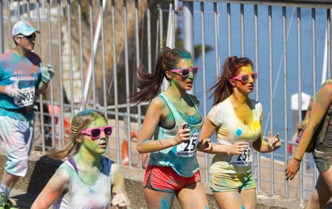 Voyager Elementary hosts first color run