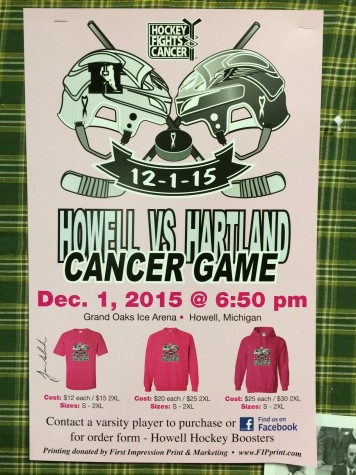 Howell Varsity Hockey prepares for upcoming Pink Game