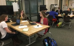 We The People students share knowledge of the Constitution at district hearings