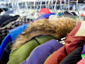 NHS helps to make the holiday season warmer with Home Sweet Home clothing drive