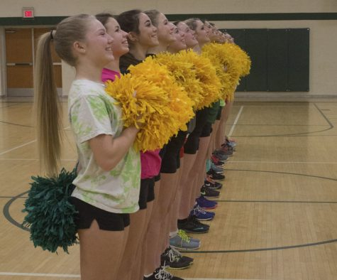 Howell Varsity Pompon stay busy before States Championship competition