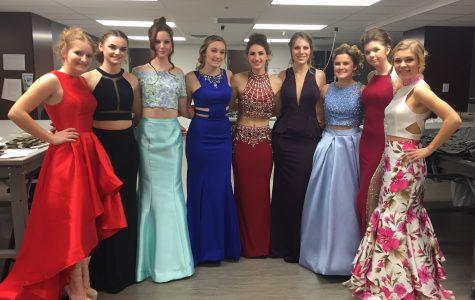 HHS Fashion Club hosts prom show