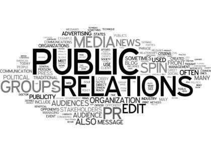 Public Relations team serves community alongside local organizations