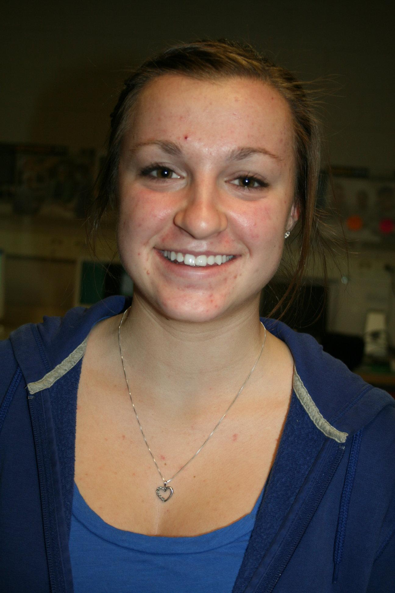 Senior Danielle Hamilton