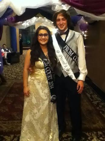 Seniors named HHS prom king and queen