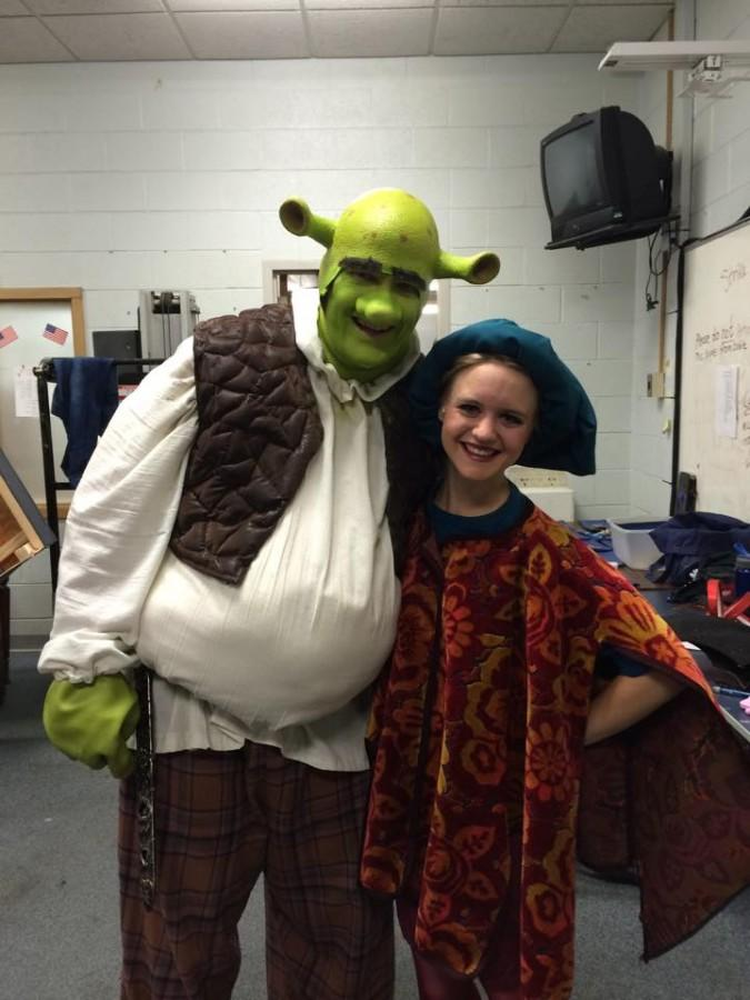 Shrek performance blows audience away