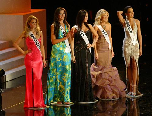 Miss Universe hurts the misses of the universe