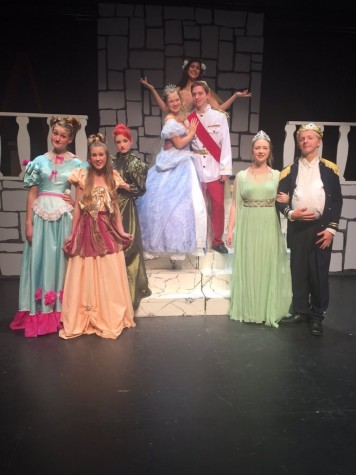 Howell's fall production of Cinderella
