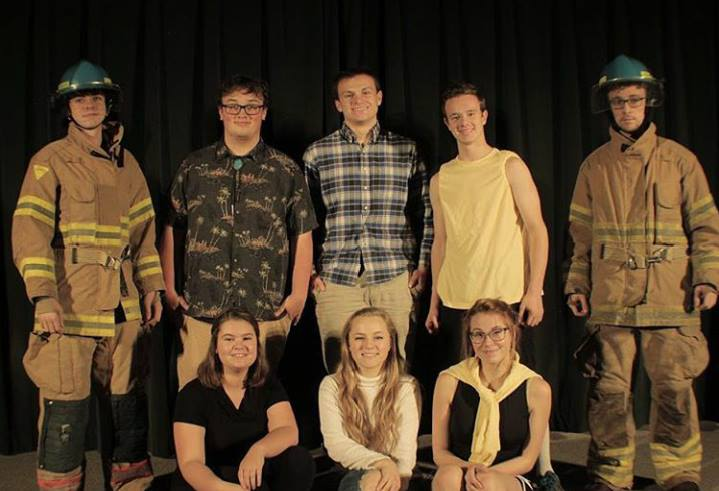 Students present black box Plays