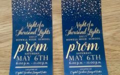 Prom tickets sold at all lunches